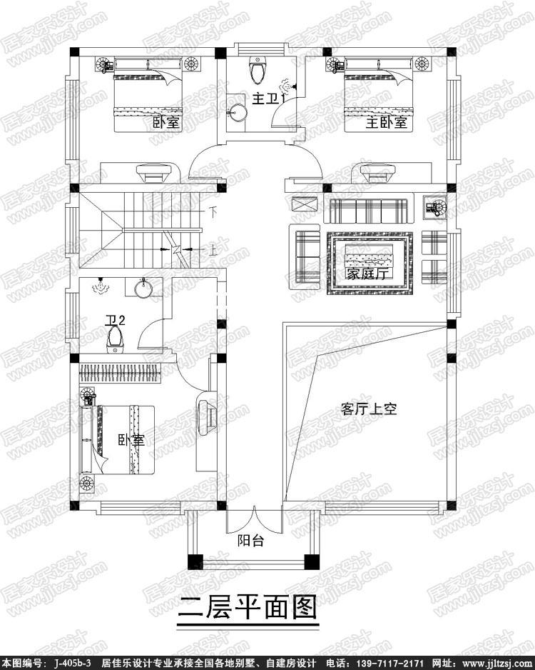 125平方米三層農村自建小別墅設計圖-10.24x13.82米,19-25萬