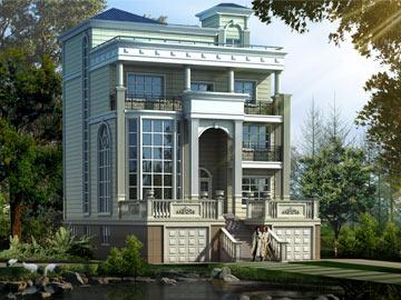 经典新全套四层自建房农村别墅培训施工图南京家装设计设计图片